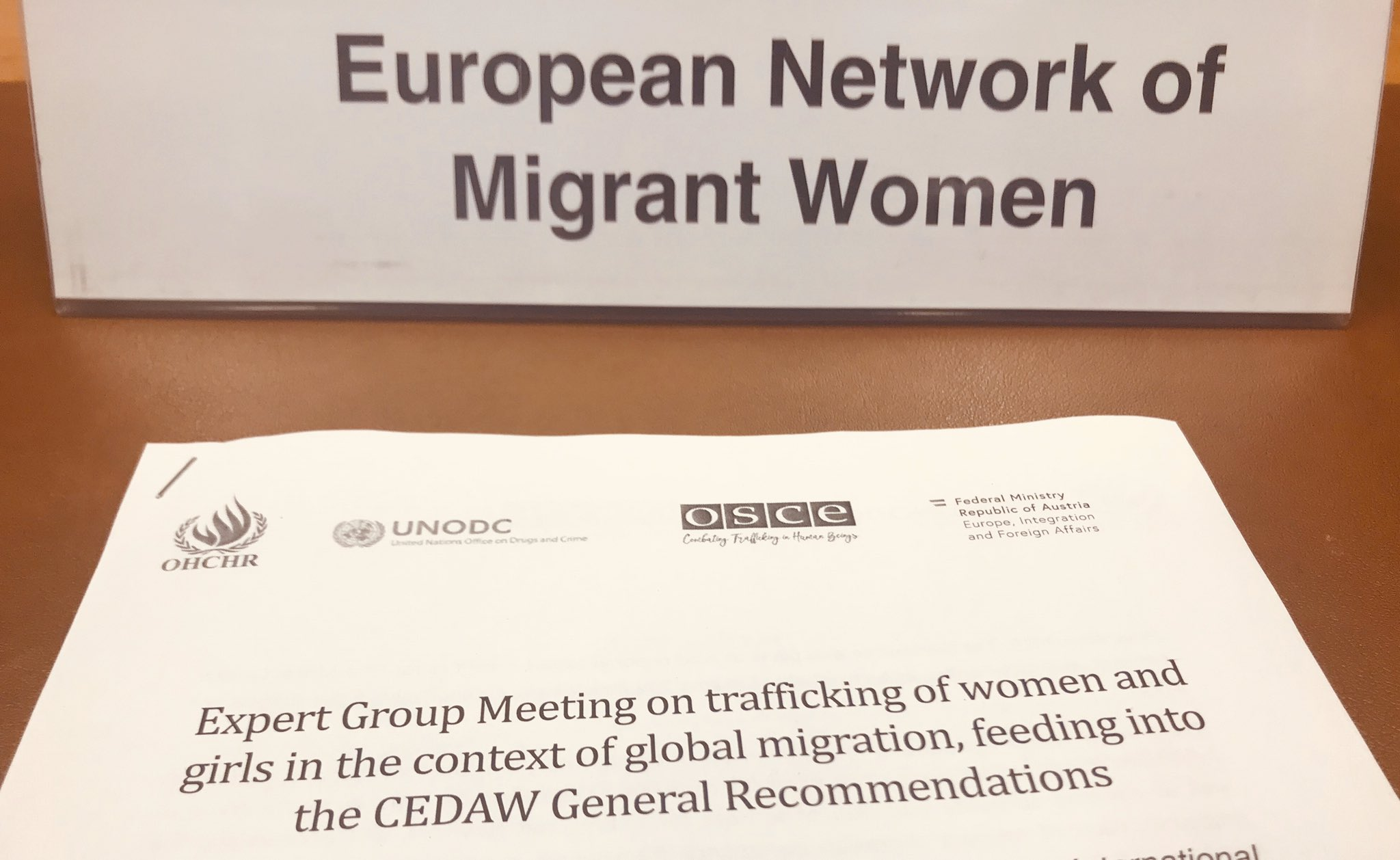 CEDAW REGIONAL CONSULTATION: GENERAL RECOMMENDATION ON ARTICLE SIX