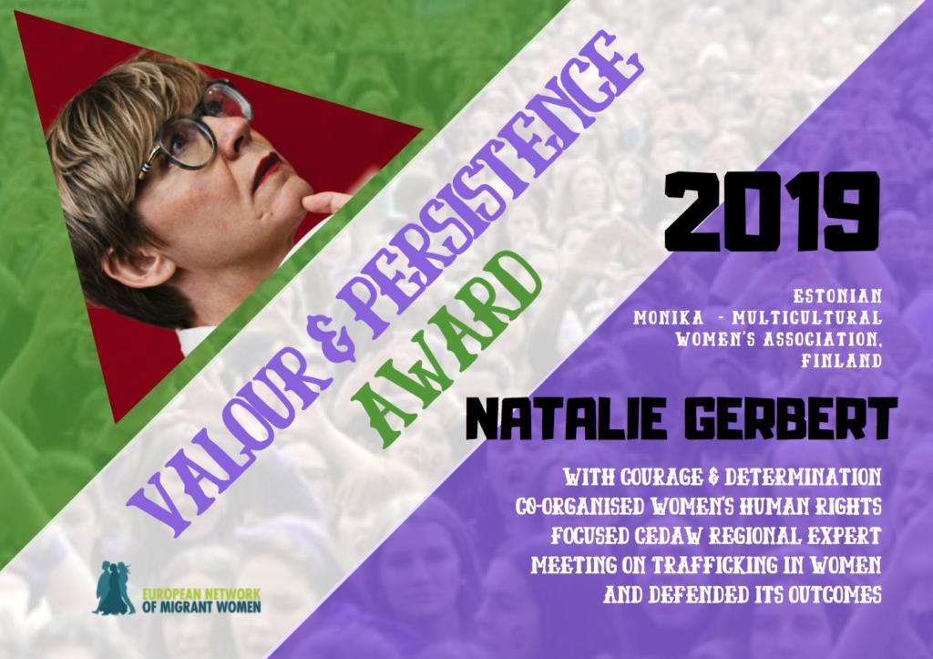 2019 Award Natalie