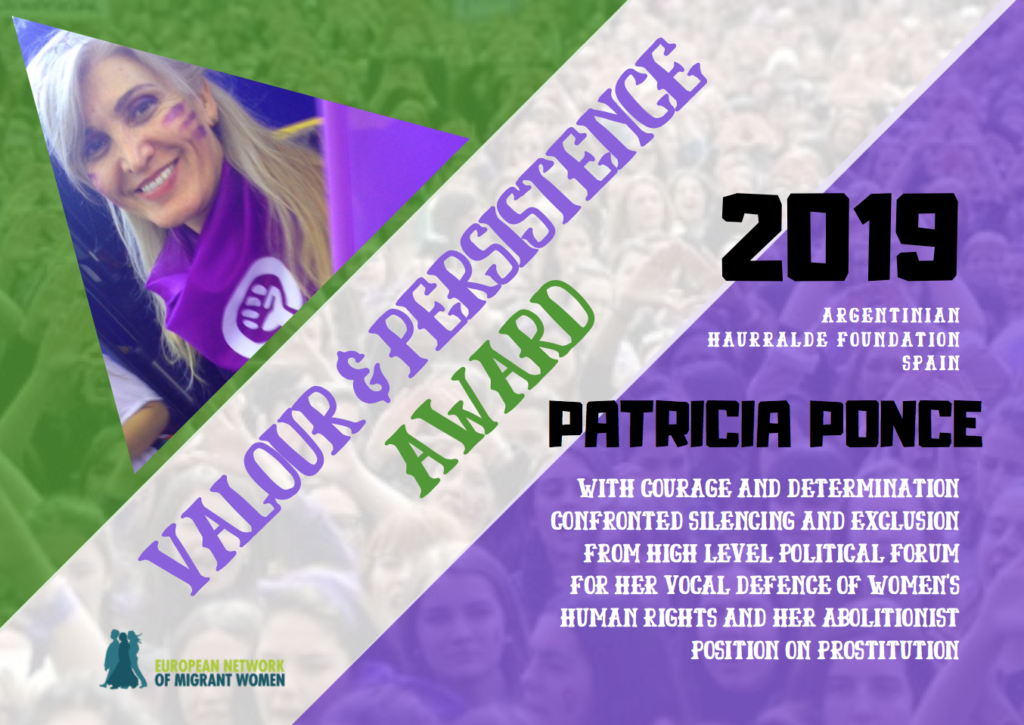 2019 Award Patricia