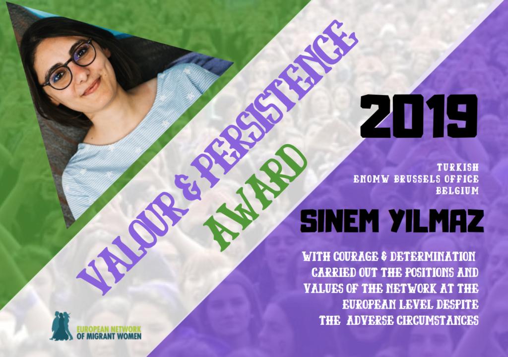 2019 Award Sinem